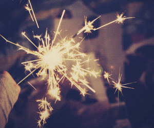 firework, photography, and light image