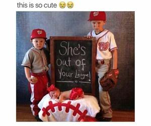 adorable, baseball, and boy image