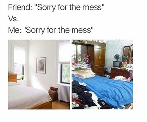 funny, room, and friends image