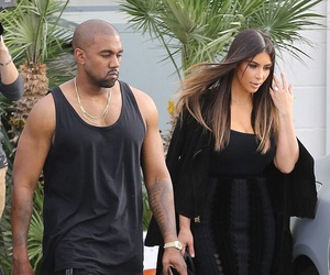 dress, hair, and kim kardashian image