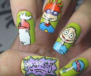rugrats, cartoon, and nails image