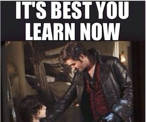 hook, killian jones, and once upon a time image