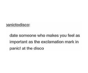music and panic! at the disco image