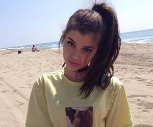 beach, makeup, and summer image