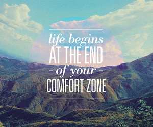 life, quotes, and comfort zone image