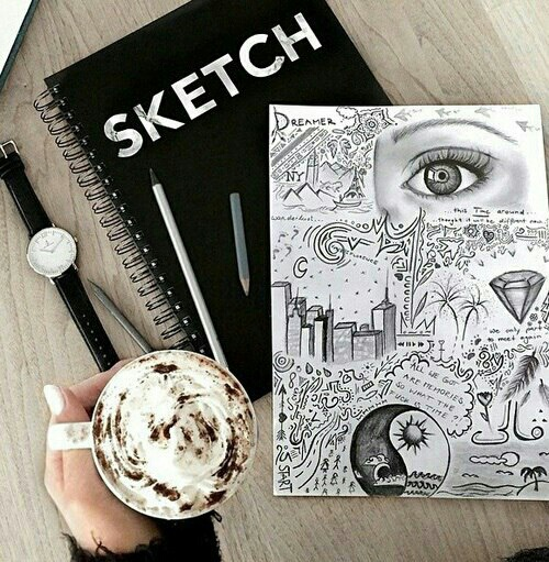 sketchbook ideas uploaded by Existenti△l Com△
