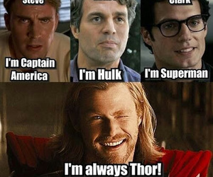 thor, Marvel, and batman image
