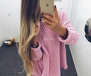 beauty, ombre, and blonde image