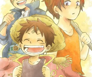 ace, forever, and one piece image