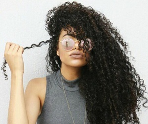 alternative, curly, and girl image