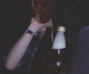 drink, drunk, and grunge image