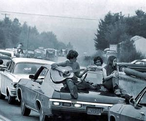 woodstock, music, and guitar image