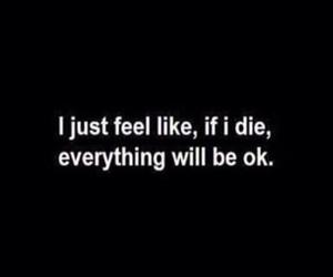 sad, die, and depressed image