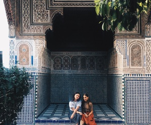 color, travel, and marrakech image