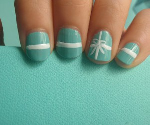 nails, tiffany, and blue image