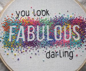 embroidery, handmade, and needlework image