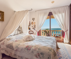 bed, bedroom, and dream home image