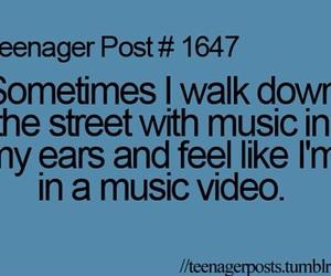 teenager post and music image