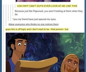 funny, disney, and tangled image
