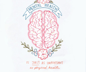 mental health, quotes, and health image