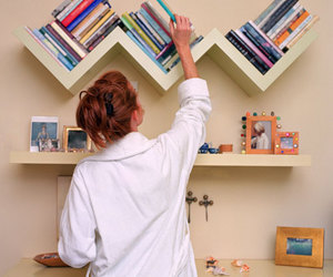 books, diy, and room image