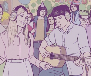 young folks and music image