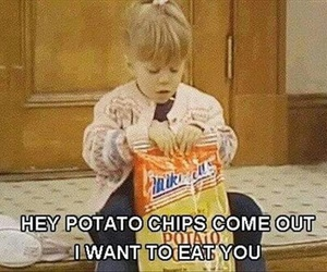 chips, full house, and food image