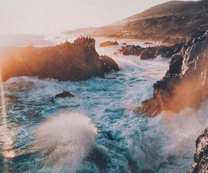 sea, nature, and travel image