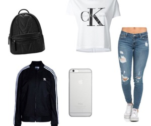 adidas, apple, and backpack image