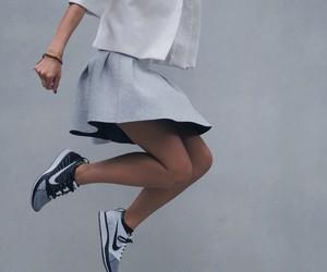 nike, style, and skirt image