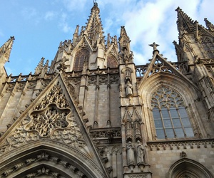 Barcelona, viajes, and catedral image