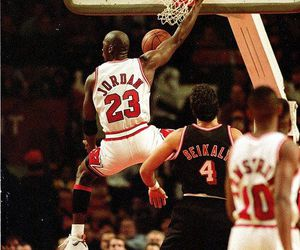 Basketball, jordan, and michael jordan image