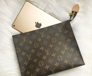 essentials, gold, and monogram image