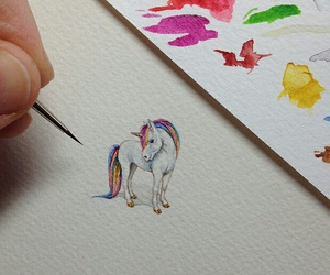 art, horse, and colour image