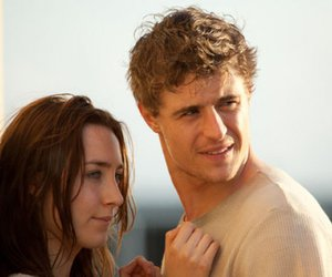 the host, max irons, and Saoirse Ronan image