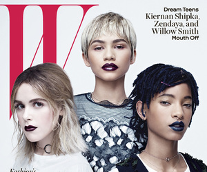 zendaya, willow smith, and kiernan shipka image