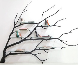 books, power, and tree image