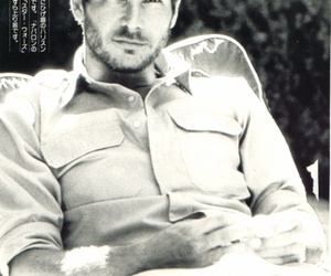black 'n' white and harrison ford image
