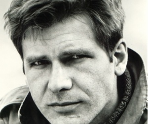 harrison ford and black 'n' white image
