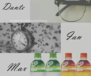 Dante, ian, and max image