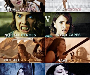 angel, Queen, and strong image