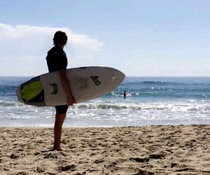 beach, ca, and sunny days image