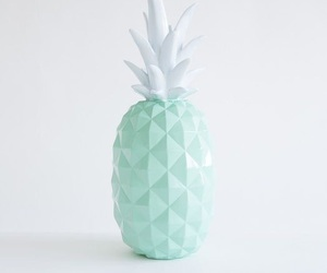 pastel, pineapple, and mint green image