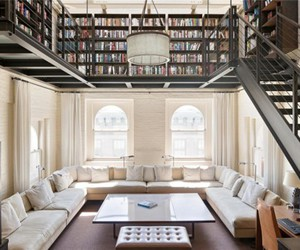 book, library, and home image