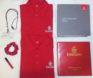 emirates, flight attendant, and cabin crew image