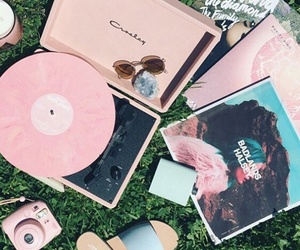 disc, indie, and pink image