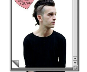 the 1975, matty healy, and band image