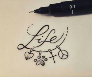tattoo, peace, and inspiration image