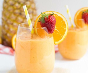 healthy, smoothies, and yummy image