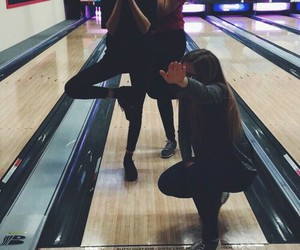 bowling, tumblr, and friends image